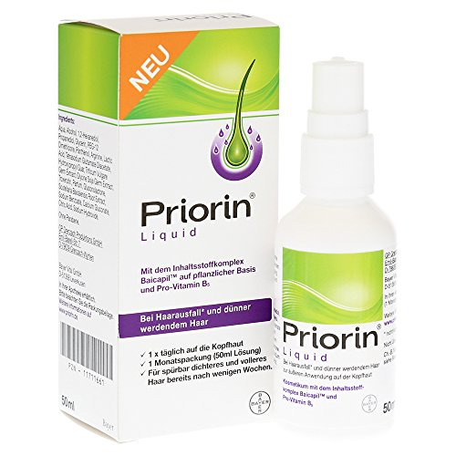 Preisvergleich Produktbild Priorin Liquid Pumplösung bei Haarausfall (50 ml)