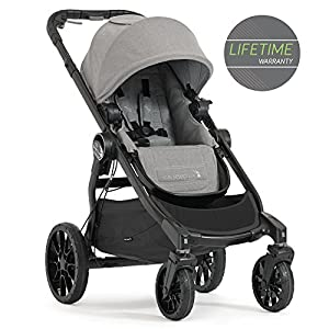 Baby Jogger City Select LUX Single Pushchair Slate Bugaboo Perfect for two children of different ages Use as a double pushchair or convert it back into a single (mono) in a few simple clicks You only need one hand to push, steer and turn 7