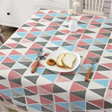 HJHET Rústico simple tela de algodón dulce mesa rectangular de tela 150*220 cm