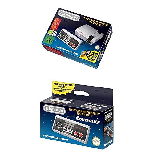 Nintendo NES - Consola Classic Mini + Controller adicional