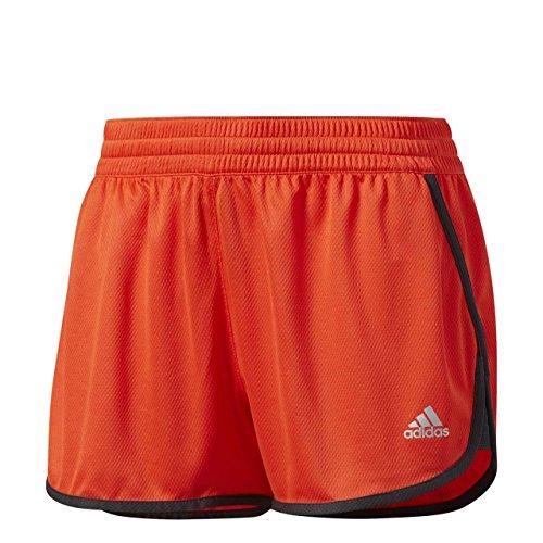 adidas Damen 100M D K Shorts, Energy/Utility Black/Matte Silver, M