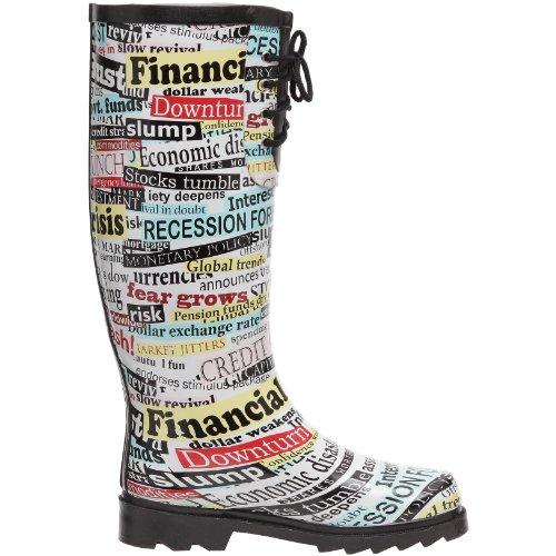 Be Only Botte Wall Street, Bottes de pluie femme Multicolore