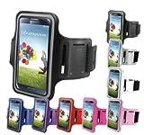 Brazalete Neopreno deportivo para Smartphone Samsung Galaxy S4 Mini para correr / running / deporte Color - AZUL