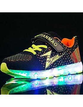 Muchachos Aemember' zapatos atléticos iluminan tul tejido zapatos Primavera Verano Otoño Invierno atléticos casual...