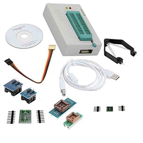laqiya tl866Ⅱ Plus Programmer USB EPROM FLASH Bios Programmable Logic Stromkreise 6Adapter Socket Extractor für 15000IC -