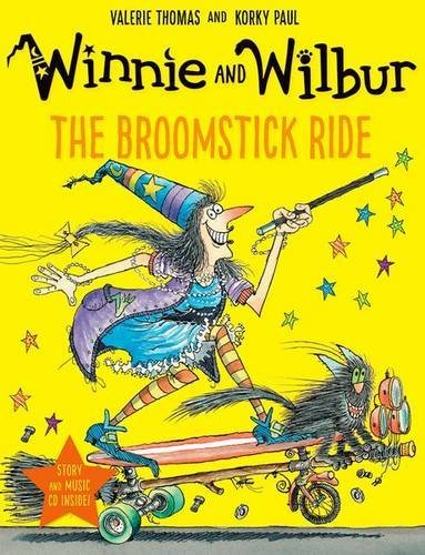 Winnie and Wilbur: The Broomstick Ride (Paperback & CD) by Valerie Thomas (2016-09-01)