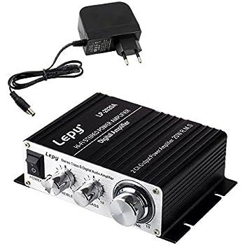 Mini Bluetooth Verst/ärker 2.1CH 45W-2 68W HiFi-Digital-Stereo Musik FM Radio Receiver Amerikanischer Standard FidgetFidget Lepy LP-168 Plus Bluetooth IR