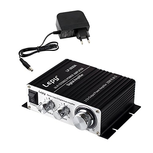 LEPY LP- 2020A + HIFI (2 x 20W) Amplificador Audio para MP3...