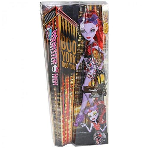 k Monster High Falsches Spiel Buh Mädchen Puppe Städte-Grausflug, Modell / Charakter:Operetta ()