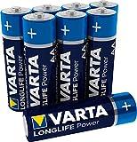 Varta Longlife Power Batterie (AA Mignon Alkaline LR6 - 8er Pack)