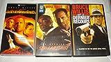 Bruce Willis Collection / Armageddon - Le Dernier Samaritain - Le Dernier Recours [VHS] Cassette Vidéo