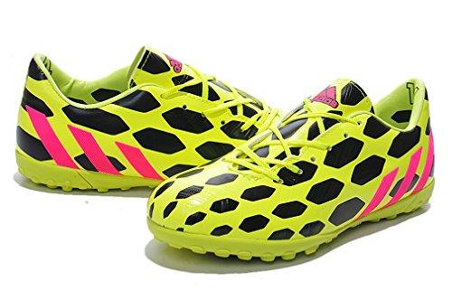 Generic da uomo Predator Absolado Instinct XIV 14TF Coppa del Mondo calcio scarpe calcio stivali, Uomo, Yellow/Black, UK10.5/EUR45