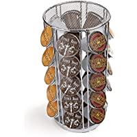 Mind Reader Rotating Carousel para 35 cápsulas Dolce Gusto / Keurig K-Cup / Verismo