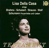 Lieder Divers De Brahms, Schubert, Strauss...