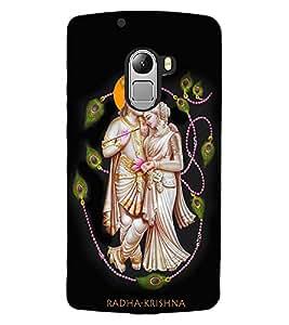 ColourCraft Radha-Krishna Design Back Case Cover for LENOVO A7010