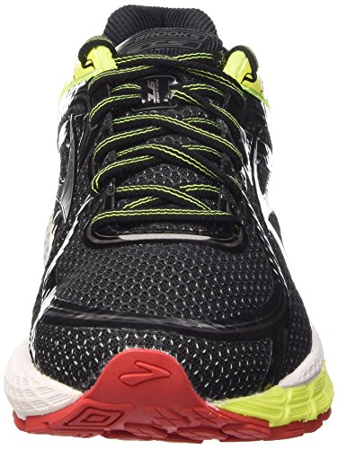 Brooks Herren Adrenaline GTS 16-110212 1D 081 Traillaufschuhe Schwarz (Black/Nightlife/Red 081)