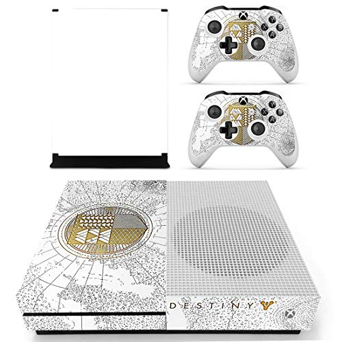 Adventure Games - Xbox One S - Destiny Spec. Ed. Vinyl-Aufkleber für Konsole und 2 Controller-Skins (Xbox One Controller Destiny Skin)