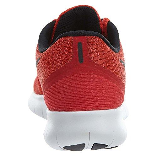 Nike Free RN, Scarpe da Corsa Uomo Rojo (Unvrsty Red / Blck-Ttl Crmsn-Wht)