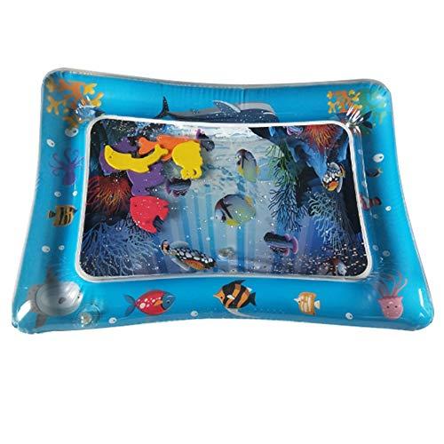 Qinnliuu Aufblasbare Wasser pad, auslaufsicher PVC aufblasbare Wasser Spiel pad, Baby Spielzeug erweiterte Wasser pad, Baby Kleinkind Kinder spaß Wasser pad Spiel aktivitätscenter