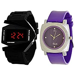 A&A CORP Designer Watch Combo For Mens And Women