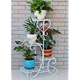 Dime Store Multi Tier Plant Stand Flower Pot Stand for Balcony Living Room Outdoor Indoor Plants Plant Holder Home Decor Item