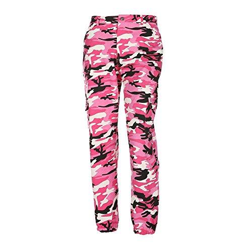 UFACE Damen Hosen Sporthose Jogginghose Sweatpants Traningshose Camouflage Hosen Frauen Freizeithose Jogger Pants Casual Sweathose Outdoorhose -