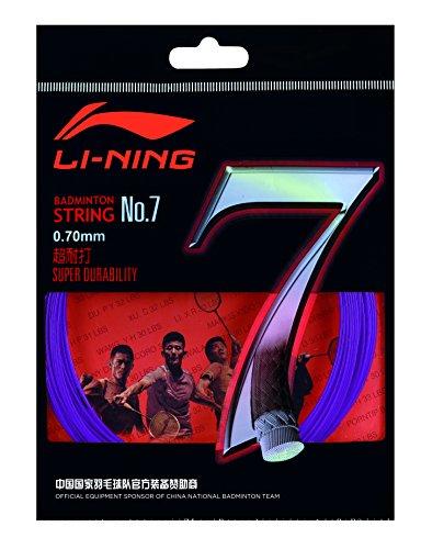 Li-Ning axj j014–7No. 7Set badmintonstring Lilas Li-Ning
