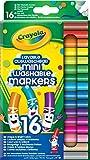 Crayola - 58-5055-E-000 - 16 Mini feutres à Dessiner -...
