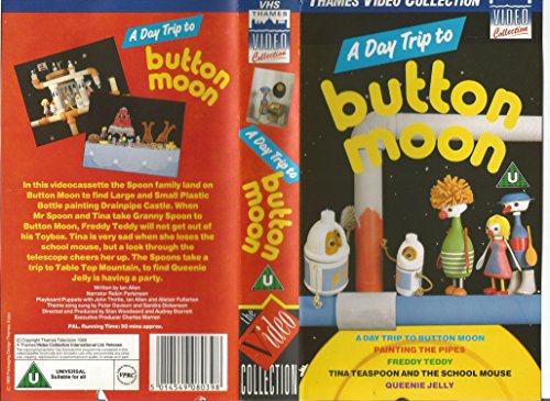 Button Moon-a Day Trip to [VHS] [UK (Moon To Trip The)