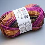 Schachenmayr Merino Super Big Mix 183 india color 100g Wolle