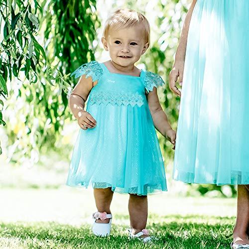 amscan Türkises Elsa Hängerkleid - Disney Die Eiskönigin Boutique Kostüm Baby Mädchen (Elsa Kostüm Baby)