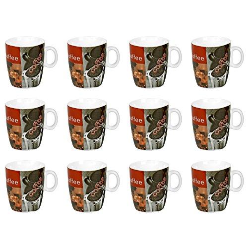 Flirt by R&B 260861 Kaffeebecher 'Hot Coffee' 200ml, mehrfarbig (Modell zufällig, 12 - B Modell Becher