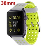 X marché et Apple iwatch/New Apple iwatch Series 2/Apple Watch Series 1/Nike + Bracelets bracelets de rechange, pour fitness bande silicone bracelet de rechange pour Apple Watch