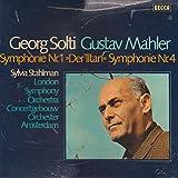 Gustav Mahler - Georg Solti , Sylvia Stahlman , London Symphony Orchestra, The , Concertgebouworkest - Symphonie Nr. 1 »Der Titan« Symphonie Nr. 4 - Decca - DK 11511/1-2, Decca - 6.35131