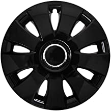 DC Style RC Aura - Juego de 4 tapacubos 13 x 13pulgadas, color negro