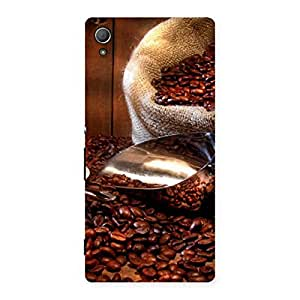 Special Coffee Beans Brown Back Case Cover for Xperia Z4
