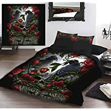 Wild Star FOREVERMORE Double Bed Duvet Cover Set by Wild Star@Home