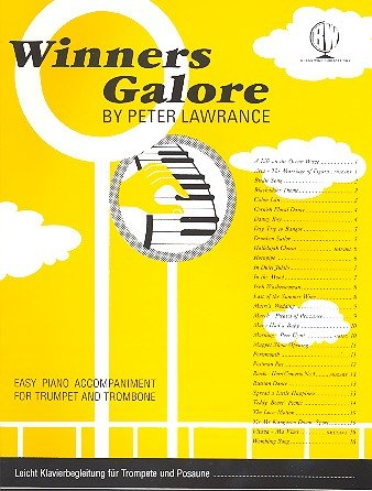 Winners Galore - Horn In F/Horn In E Flat/E Flat Bass (Book/CD). Für Horn, Tuba