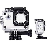 Tek Professional SJ4000WiFi Wasserdicht Schutz Hülle Gehäuse für Akaso ek7000/Apeman/victure/odrvm 4K Wasserdicht Sport Action Kamera