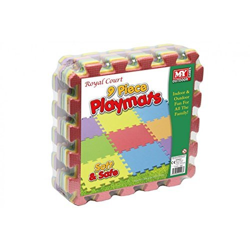 ENFANTS EVA MOUSSE INTERLOCKING JEU MAT MAT SOFT PLAYMAT SET...
