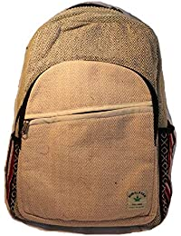 Mochila de fibra de cáñamo  Mochila de cáñamo   mochila de día de cáñamo    mochila para la escuela 27576d7d08eb2