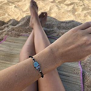 Armband Frauen Damen Mädchen Surferarmband Freundschaftsarmband Made by Nami Armbänder – Handmade Surfer Schmuck Damen…