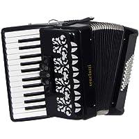 Scarlatti S48 - Acordeón de 48 bajos, color negro