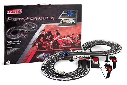 Globo Toys Globo–36452286cm spidko Pista Formula Racing Track (Remote-control Car Und Track)