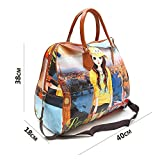 KNOWTEQ multipurpose printed duffle bag for ladies/woman/girls