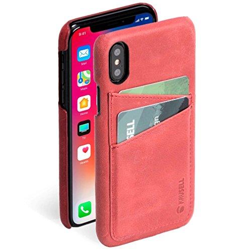 Image of Krusell Sunne 2Schutzhülle Rot–Hüllen für Mobiltelefone (Schutzhülle, Apple, iPhone, Rot)