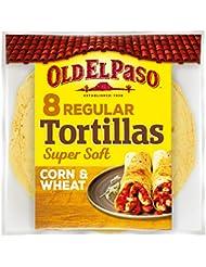 Old El Paso Regular Super Soft Corn & Wheat Tortillas x8 335g