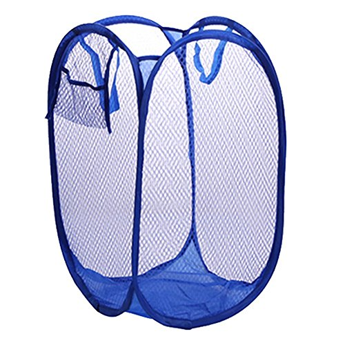 hangnuo Cesto Portabiancheria pieghevole nylon mesh panno