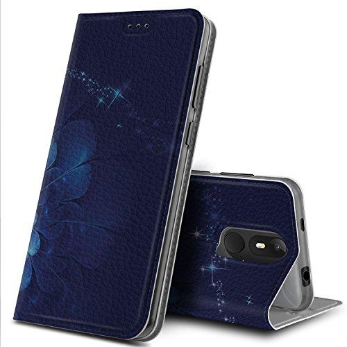 Wiko View Lite Hülle, GeeMai Premium Flip Case Tasche Cover Hüllen mit Magnetverschluss [Standfunktion] Schutzhülle Handyhülle für Wiko View Lite Smartphone, CH09