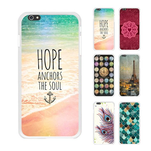 "D9Q Retro Art Fall Abstrakte Cover Hüb Schwieder Haut Hülle für iPhone 6 Plus 5,5"" !!Farbe1"